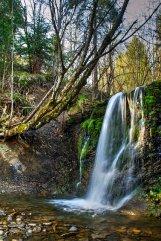 wodospad, Bieszczady