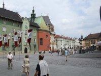 stare miasto w Krakowie, rynek