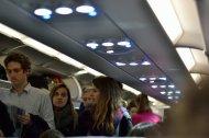 pasażerowie samolotu