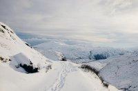 śnieg, góry