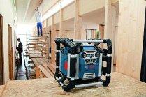 Radio budowlane Power Box GML 50 Professional firmy Bosch.